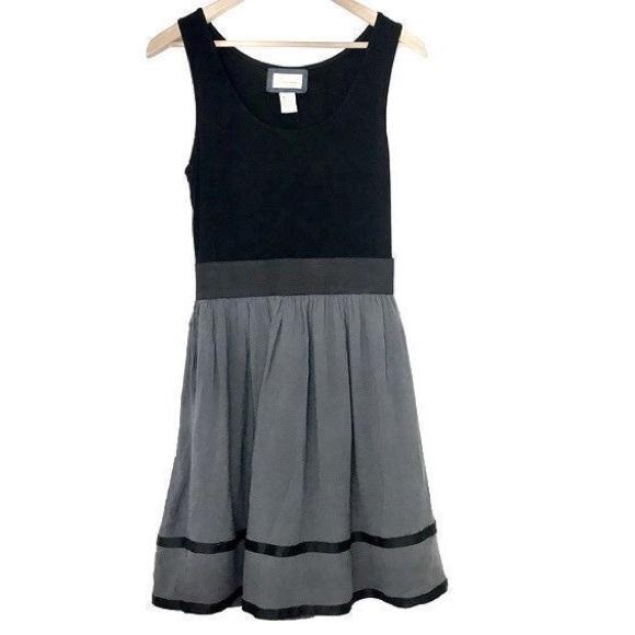 Emmelee for F.C. Dresses & Skirts - Emmelee for FC Black Grey Scoop Tank Dress Small